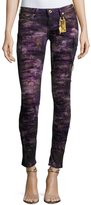 Robin's Jeans Marilyn Distressed Denim Jeans, Purple