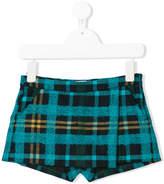 Il Gufo plaid tailored shorts