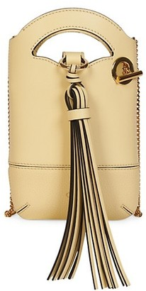 Chloé Mini Walden Leather Crossbody Pouch