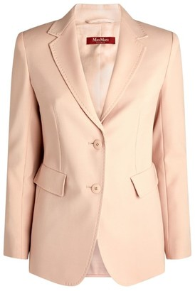 Max Mara Single-Breasted Wool Blazer