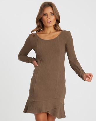 Calli Karly Ruffle Mini Dress