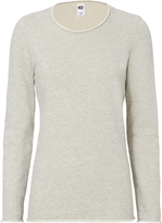 NSF Lace-Up Corset Back Sweatshirt