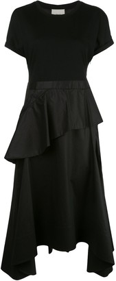 3.1 Phillip Lim Ruffle Skirt Midi Dress