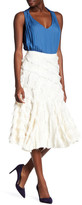 Rebecca Taylor Bias Fringe Skirt