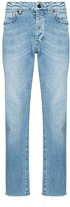 Neuw Loose-Fit Cropped Jeans