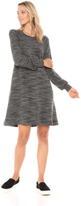 Daily Ritual Amazon Brand Women's Supersoft Terry Relaxed Sweatshirt Dress