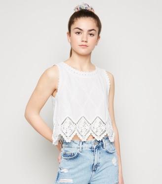 New Look Girls Crochet Vest