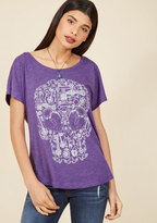 ModCloth Unlock Your Intrigue T-Shirt in XS