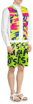 DSQUARED2 Printed Satin Shorts