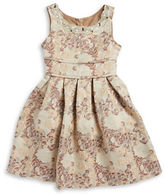 Iris & Ivy Girls 7-16 Embellished Jaquard Dress