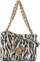 Emilio Pucci chain strap shoulder bag - women - Leather/Calf Hair - One Size