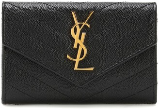 Saint Laurent Monogram Small leather wallet