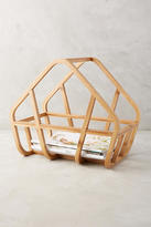 Anthropologie Bamboo Magazine Rack