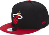 New Era 9fifty Miami Heat Snapback Cap