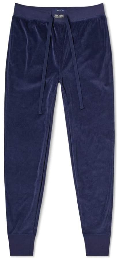Polo Ralph Lauren Velour Sleepwear Sweat Pant