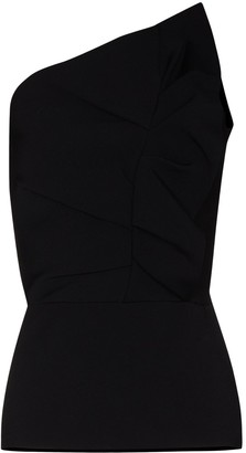 Roland Mouret Rendy one-shoulder top