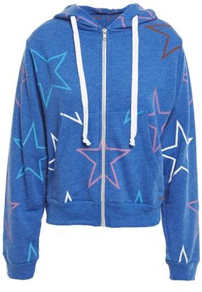 Wildfox Couture Printed Cotton-blend Fleece Hoodie