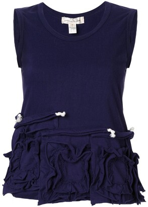 Comme des Garcons Pre Owned Sleeveless Tops