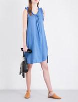 AG Jeans Dixie cotton-chambray dress