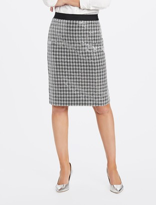 Draper James Collection Sequin Pencil Skirt