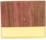 Corto Moltedo contrast bi-fold wallet