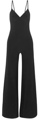 Norma Kamali Stretch-jersey Wide-leg Jumpsuit