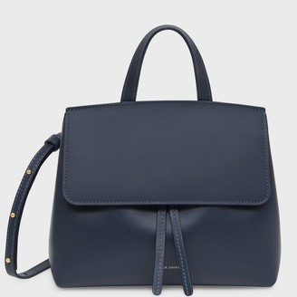 Mansur Gavriel Calf Mini Mini Lady Bag - Blu