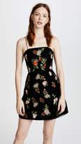 Alice + Olivia Launa Embroidered Dress