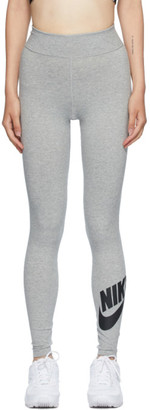 Nike Grey Sportswear Leg-A-See Futura Long Leggings