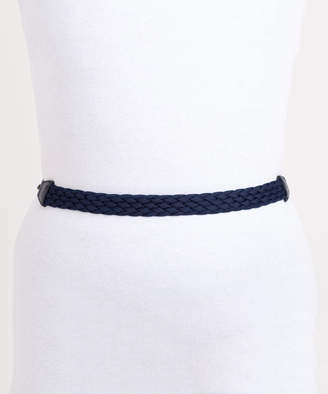 Cherie Accessories Women's Belts Navy - Navy Braided Waist Belt