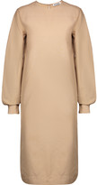 Jil Sander Cotton and silk-blend dress