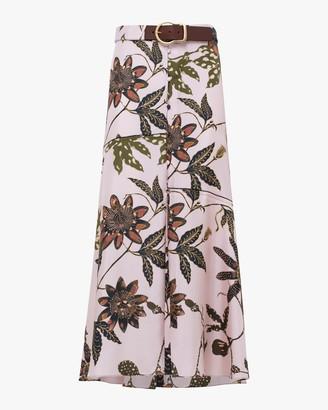 Schumacher Powerful Floral Maxi Skirt