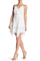 Greylin Sleeveless Surplice Dress