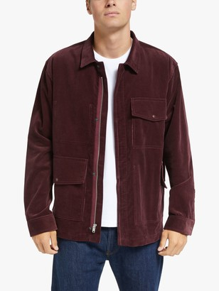 Garbstore Military Field Jacket, Burgundy