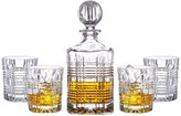 Jay Import Portland Decanter & Whiskey Glasses 5-Piece Set