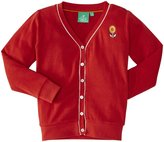 Little Green Radicals Pointelle Cardigan (Toddler/Kid) - Red-2-3 Years