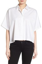 KENDALL + KYLIE Back Lace-Up Shirt