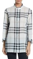 Burberry Salla Plaid-Print Shirt