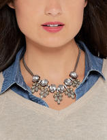 The Limited Clustered Faux Gem Statement Necklace