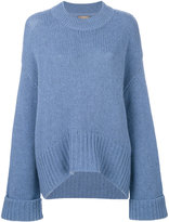 N.Peal maxi slouch sweater
