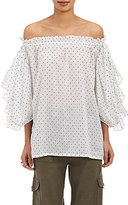 Robert Rodriguez Women's Voile Off-The-Shoulder Top