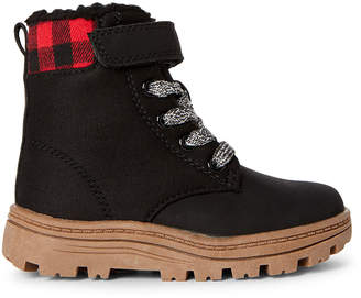 Carter's Toddler Boys) Black Cali Ankle Boots