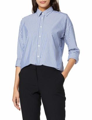 Gant Women's D1. TP BC Striped Oversized Shirt Blouse