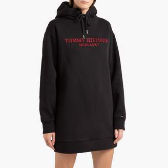 Tommy Hilfiger Cotton Mix Sweatshirt Dress with Long Sleeves