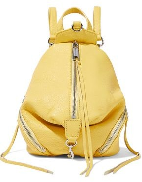 Rebecca Minkoff Julian Convertible Textured-leather Backpack