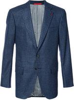 Isaia classic blazer - men - Silk/Wool - 48