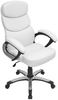 Lumisource Doctorate Office Chair White