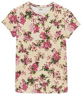 Thumbnail for your product : L'Agence Ressi Floral Crewneck T-Shirt