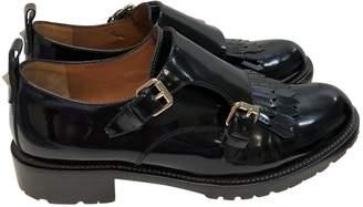 Valentino Black Leather Lace ups