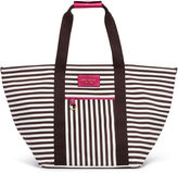 Henri Bendel Signature Stripe Canvas Tote